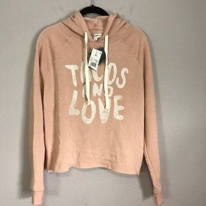 "Grayson Threads ""Tacos and Love"" Cropped Hoodie"